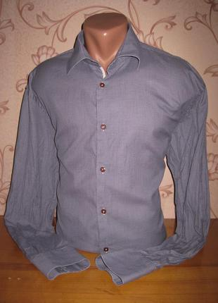 Рубашка мужская. размер xl (смотрите замеры). girleof. в отлич...