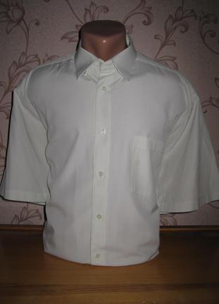 Рубашка мужская. размер xl (см. замеры). framzon. в отличном с...