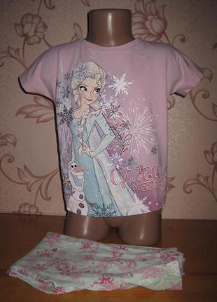 Пижама для девочки. на 5-6 лет. в отличном состоянии!!!