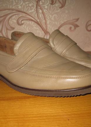 Туфли мужские. размер 43-44 см. brook street. состояние нового!
