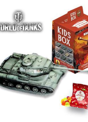 Свит бокс World of tanks коллекция танков мира Кидсбокс и марм...