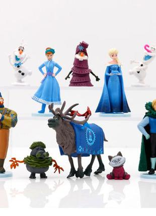 Холодное сердце 2 набор фигурок Frozen коллекция из 10 фигурок...