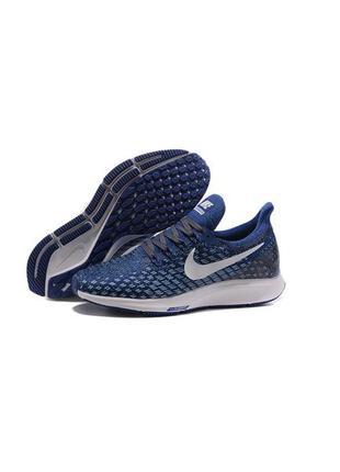 Кроссовки nike air zoom pegasus 35 men's running shoes blue wh...