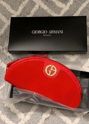 Косметичка комплект в коробці giorgio armani
