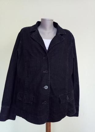 Джинсовый жакет куртка