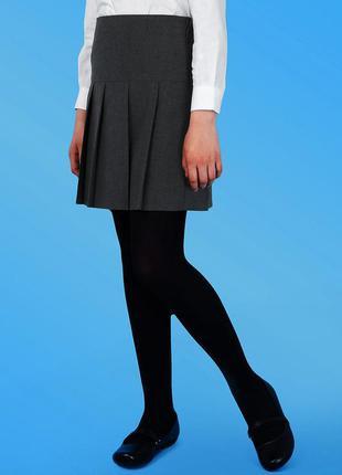 Школьная классическая юбка Bhs в складку, 122 см