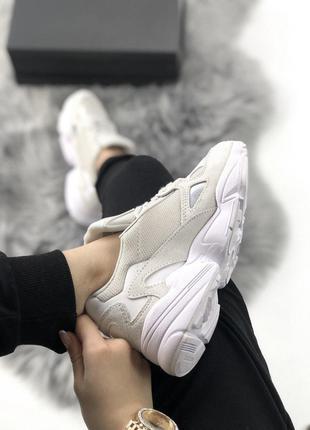 Adidas Falcon Full White