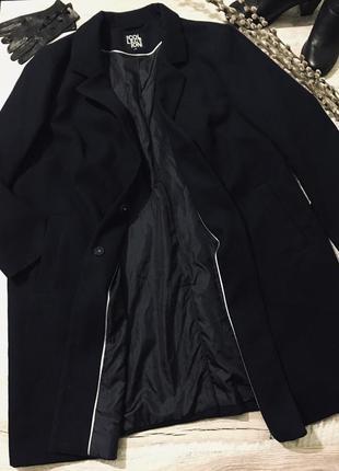 Стильное демисезонное пальто большого размера🌿батал