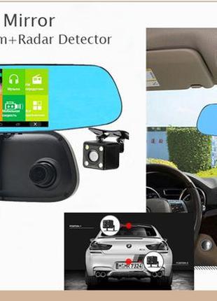 Зеркало видеорегистратор - радар с GPS навигатором и Wi-Fi! НО...