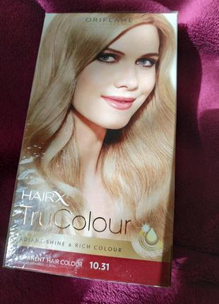 Стойкая краска для волос светлый блонд
