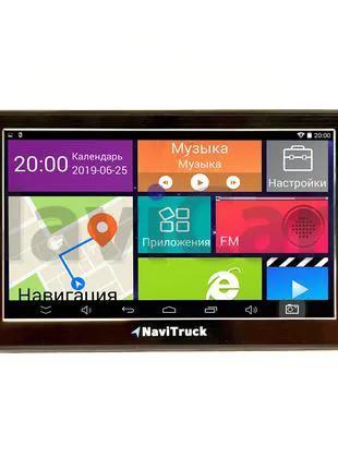 Android Навигатор GPS NaviTruck NT740i - Карты Европа