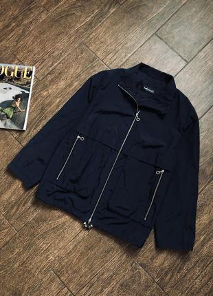 Стильная куртка ветровка большого размера