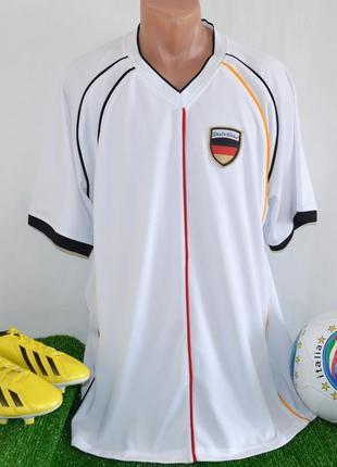 Футбольная спортивная футболка сборной германии victory deutsc...