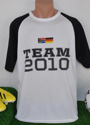 Футбольная спортивная футболка сборной германии saturn deutsch...