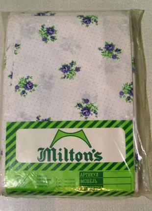 Комплект постельного белья Milton's 80-х годов.