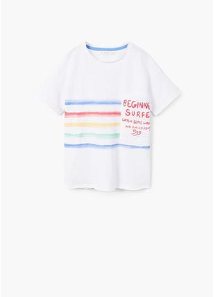 футболка MANGO на мальчика