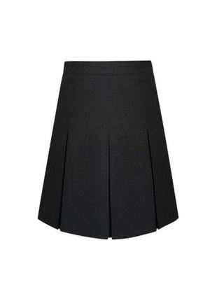 Черная школьная юбка George, 128-134 см