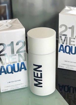 Carolina Herrera 212 Men Aqua  Limited Edition_Оригинал 5 мл