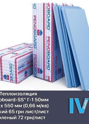 Экструдированный пенополистирол PENOBOARD пенопласт утеплитель