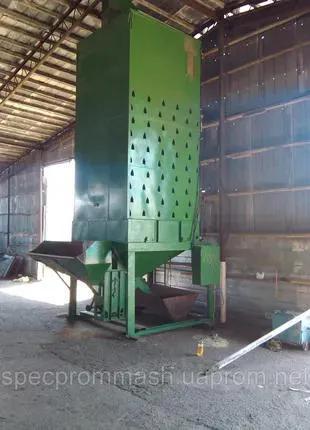 Зерносушилка шахтная ЗСШ (производительность 3 т/час)