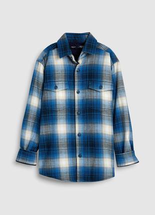Next рубашка на трикотажной подкладке 11 лет