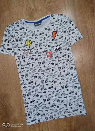 Весёлая футболка унисекс -xs-s-158-164 рост-arrested- германия