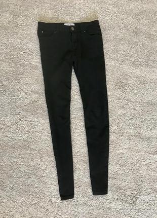Скинни брюки джинсы стрейч