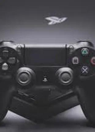 Беспроводной геймпад PlayStation Dualshock 4 Bluetooth PS4 Black
