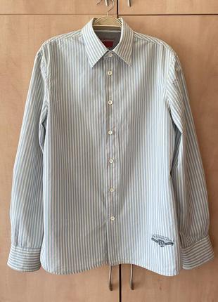 Мужская рубашка в полоску levis