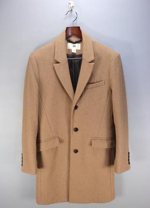 Песочное пальто h&m