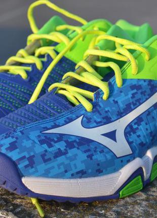Мужские кроссовки для тенниса mizuno wave intense
