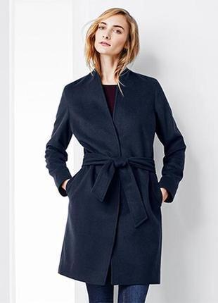 Шикарное пальто с шерстью на подкладке  , тсм tchibo (