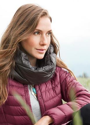 Теплый непродуваемый снуд-шарф tchibo(германия)