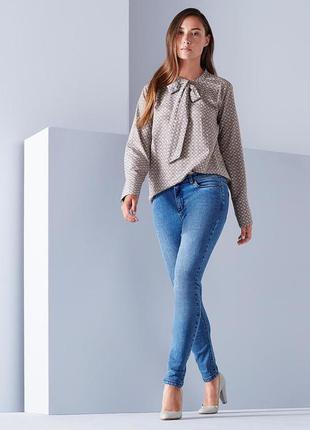 Элегантная шелковая блузка (40% шелк +60 % био-хлопок) от tchibo