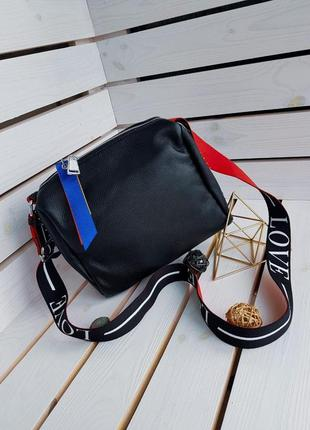 Крутая женская кожаная сумка