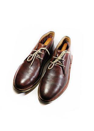 Мужские ботинки дезерты кожа clarks англия оригинал