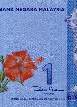 Банкнота Малайзия 1 рингит