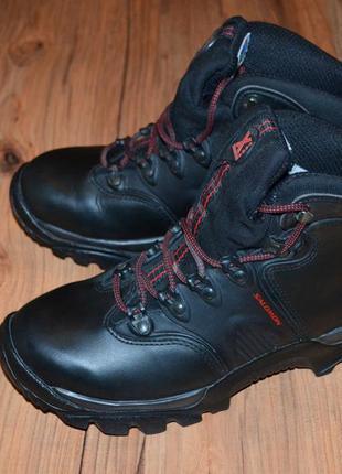 Продам ботинки salomon - 42 размер кожа зима