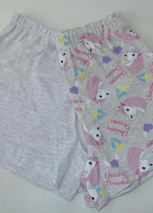 Пижамные шорты primark george 7-8 л