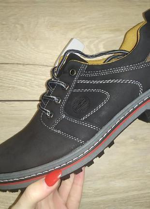 Ботинки туфли деми весна подросток полуботинки