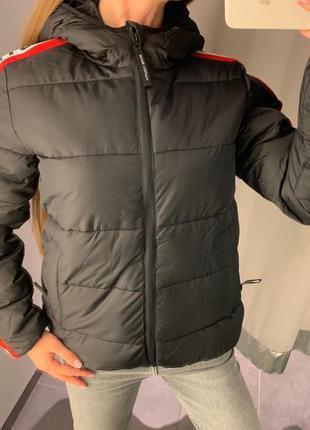 Стильная куртка пуффер курточка amisu есть размеры