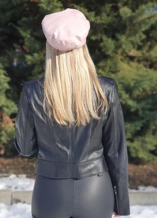 Курточка натуральная кожа овчина лайка турция косуха