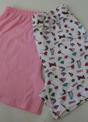 Набор 2 шт. пижама пижамные шорты primark 12-13 лет 158 см