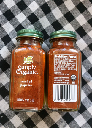 Приправа Копченая Паприка Simply Organic