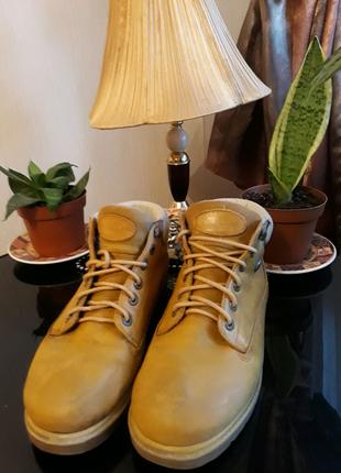Ботинки из нубука ⚜