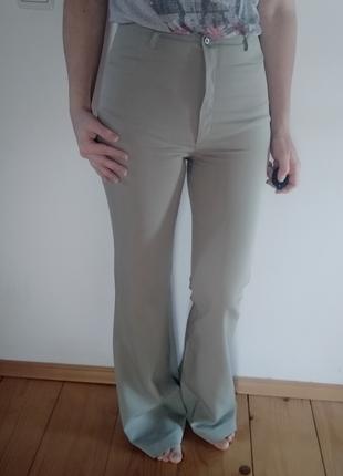 Жіноча штани и брюк яркая зелений розмір-36