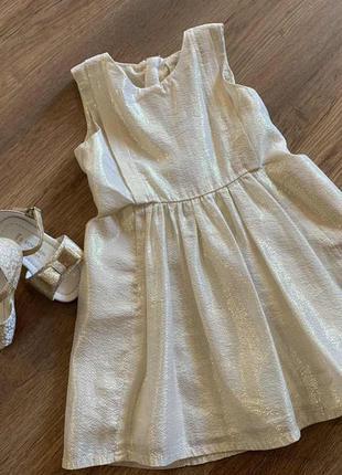 Шелковое стильное платье на маленькую модницу