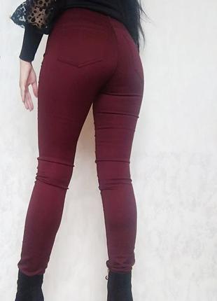 Шикарне штани в обтяжку від  фірми н & м