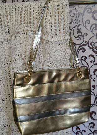 Классная сумка на лето под золота