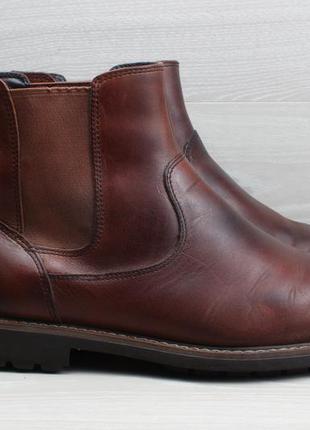 Мужские кожаные ботинки clarks chelsea boots оригинал, размер ...